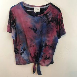 Willow Young Contemporary Tie Dye shirt